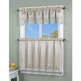 Sears Simply Window Brighton Cutwork Kitchen Curtain Valance