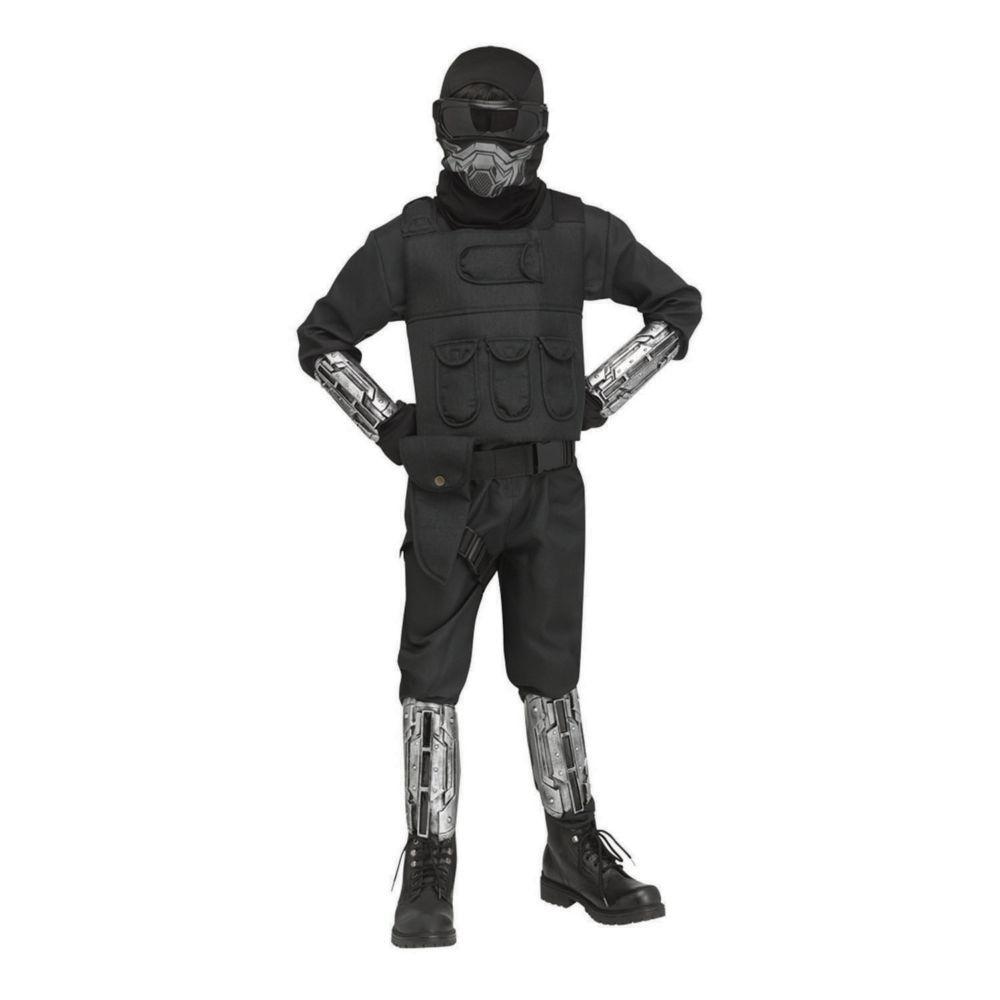Fun World Boys Gaming Fighter Costume