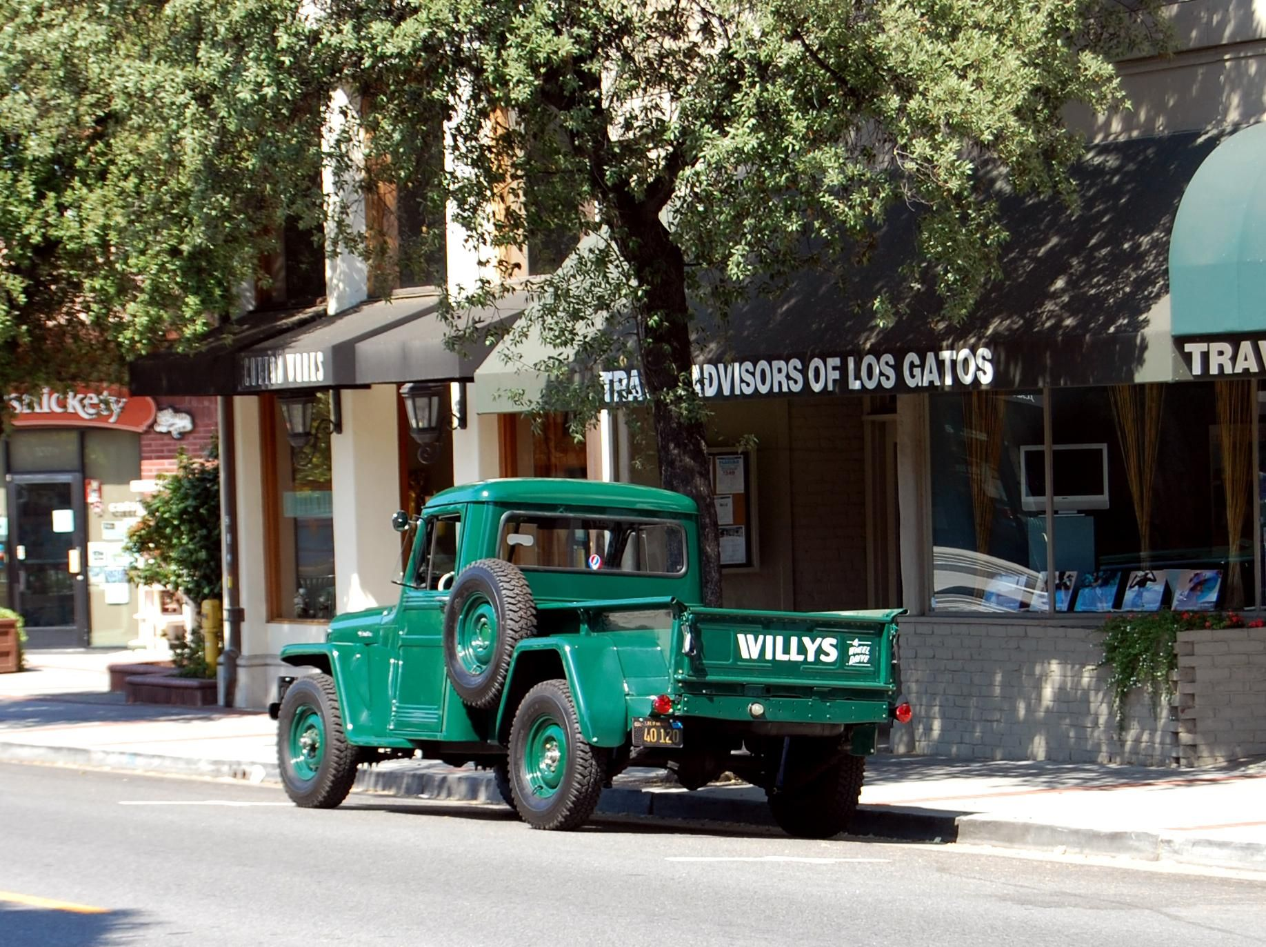 Willys jeep pick up