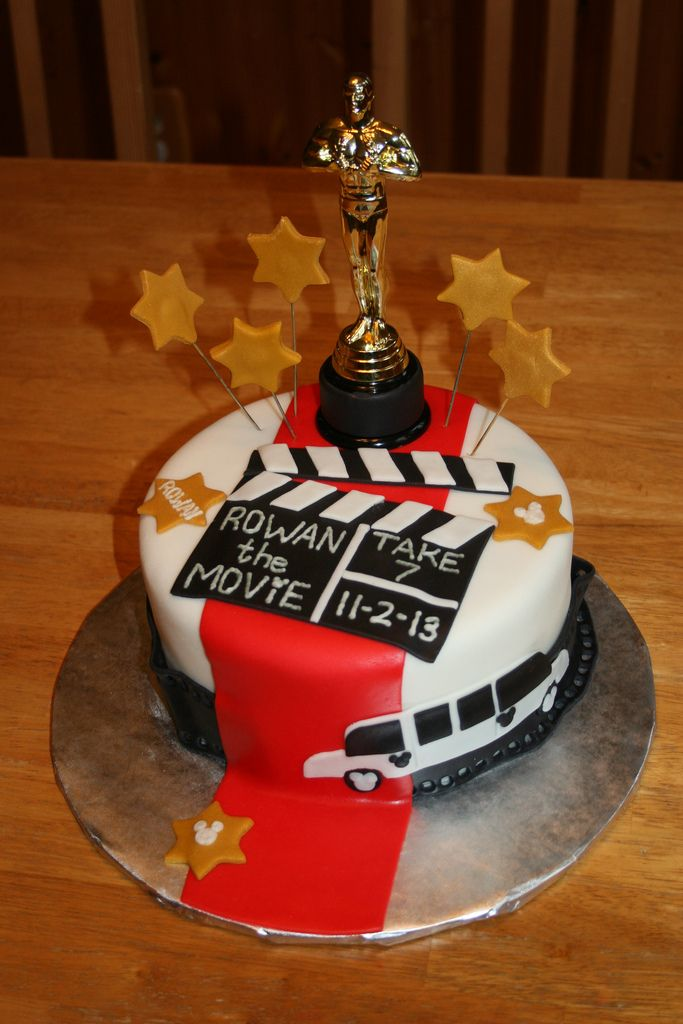 Hollywoodpartycakes Hollywood Theme Party Hollywood Party - Movie themed birthday cake