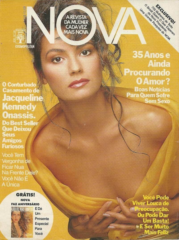 GN - Breathtaking Brazilian Icon Model Luiza Brunet for Cosmopolitan/Nova Brazil