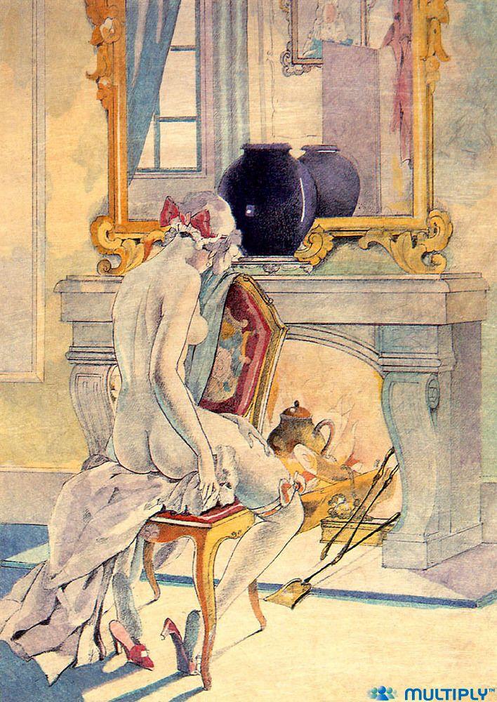 Italian erotic art