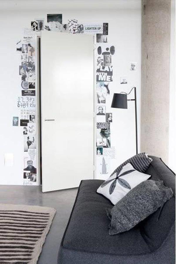17 ideas para pintar y decorar las puertas interiores de casa Bow