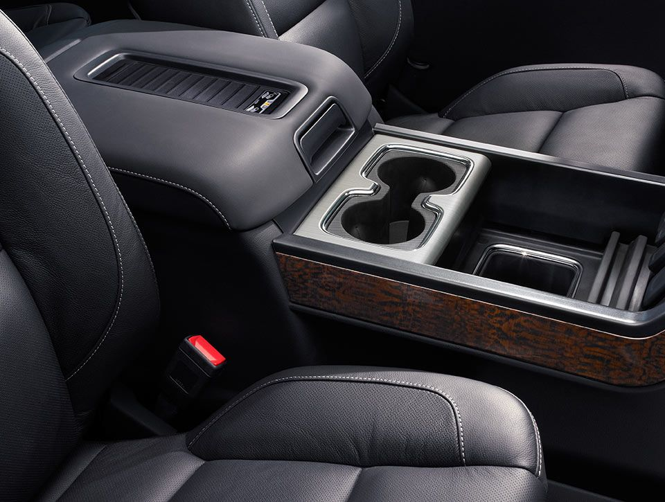 Center Console Storage Enough For Folders And Laptops In The Gmc Sierra