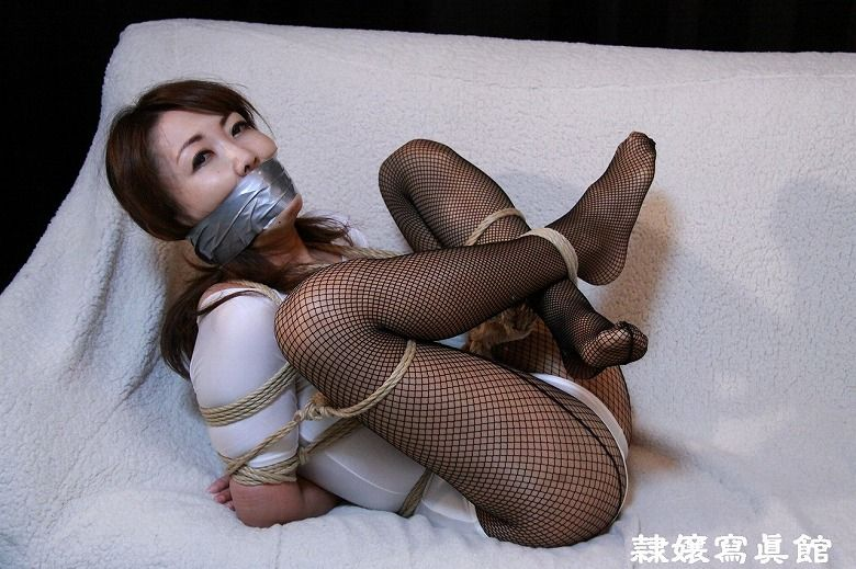 Did this tape gagged bondage feish she