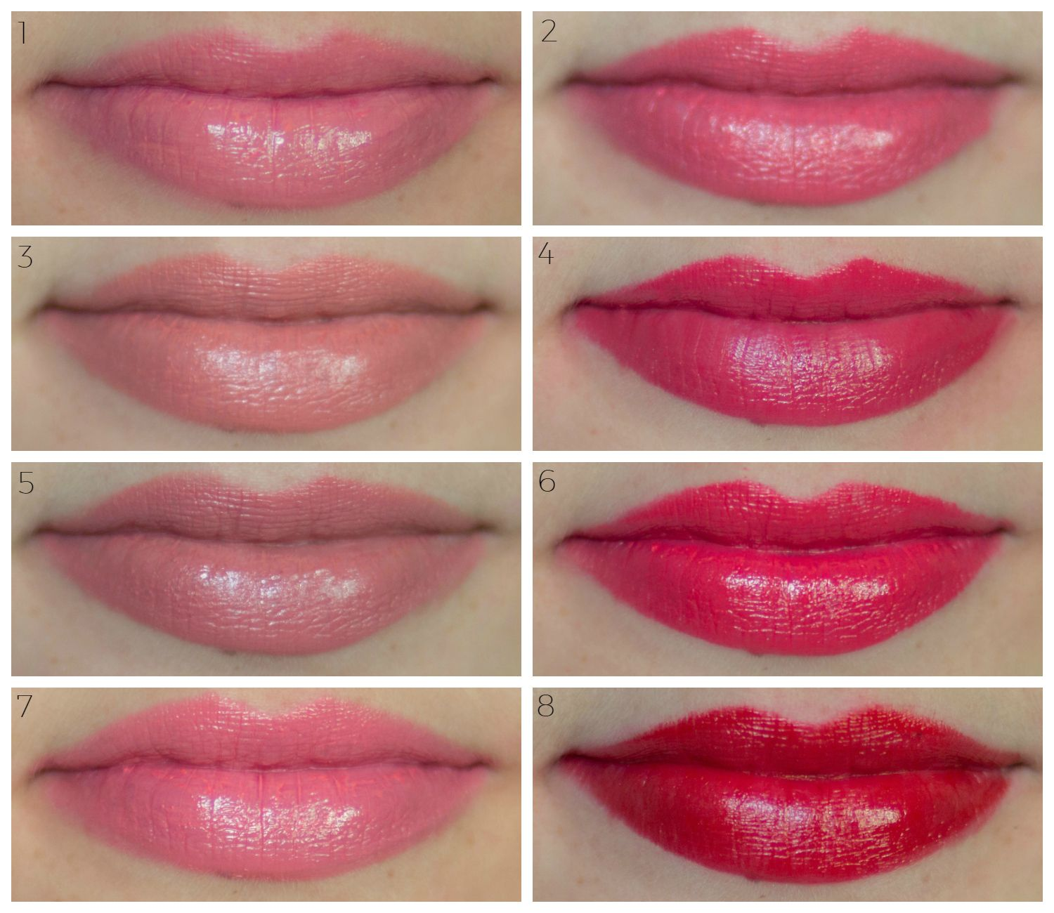100 Pure Makeup Review + Swatches Natural lipstick