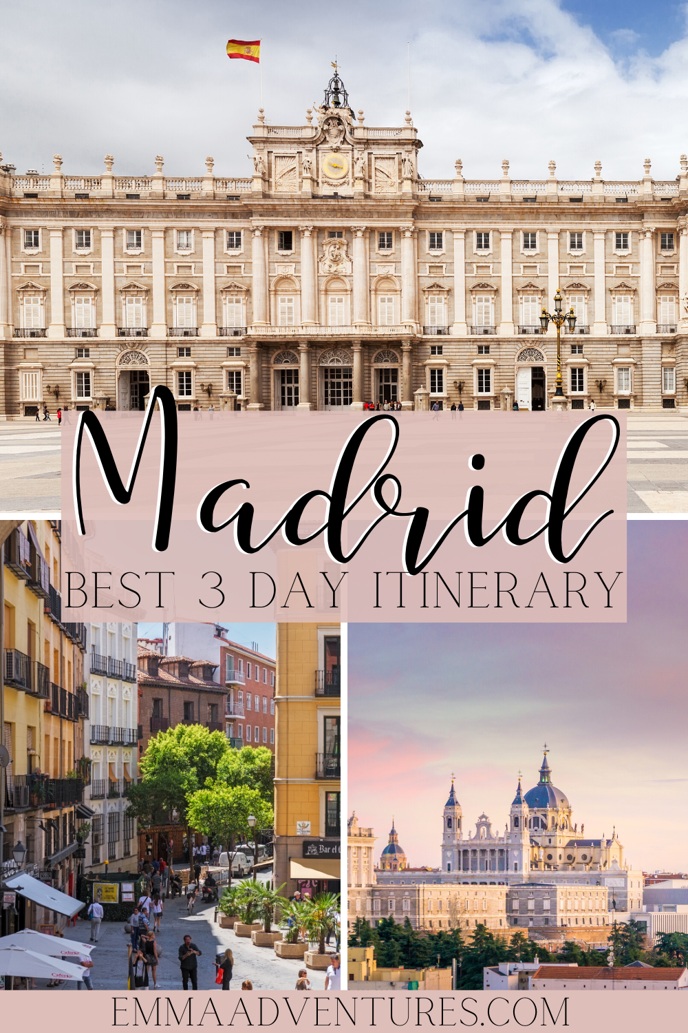 The Best Ever Madrid Itinerary 3 Days In Madrid Spain Madrid Travel Europe Travel Spain Travel
