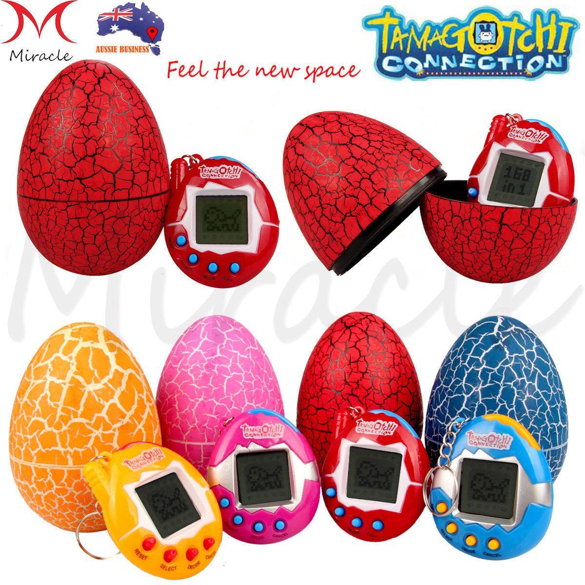 90S Tamagotchi Electronic Pets Toys Dinosaur Egg Kids Gift