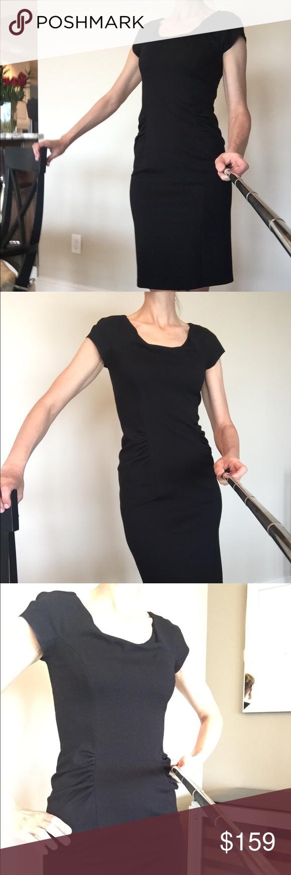 Armani Collezioni Black Dress Black Dress Flattering Fashion Dresses [ 1740 x 580 Pixel ]