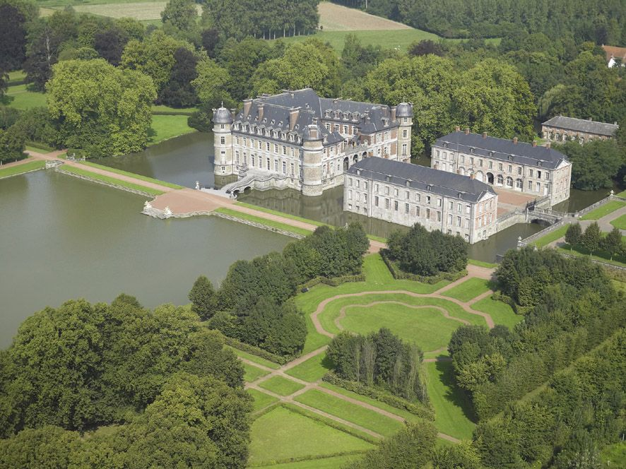 Chateau De Beloeil Belgium With Images Castle Belgium