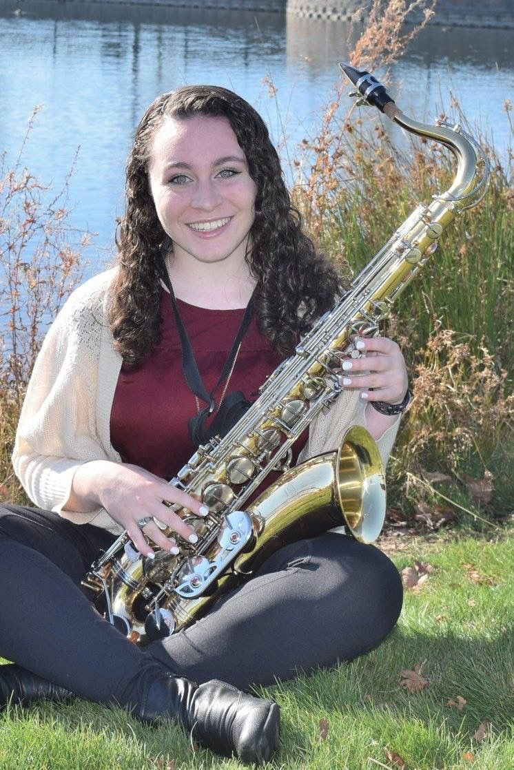 Tenor Sax, Senior Picture  Senior Pictures, Girl Senior -5606