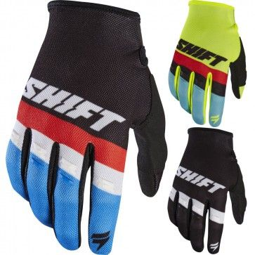Shift Mx White Label Air Youth Motocross Gloves Motocross Gloves Gloves Shift