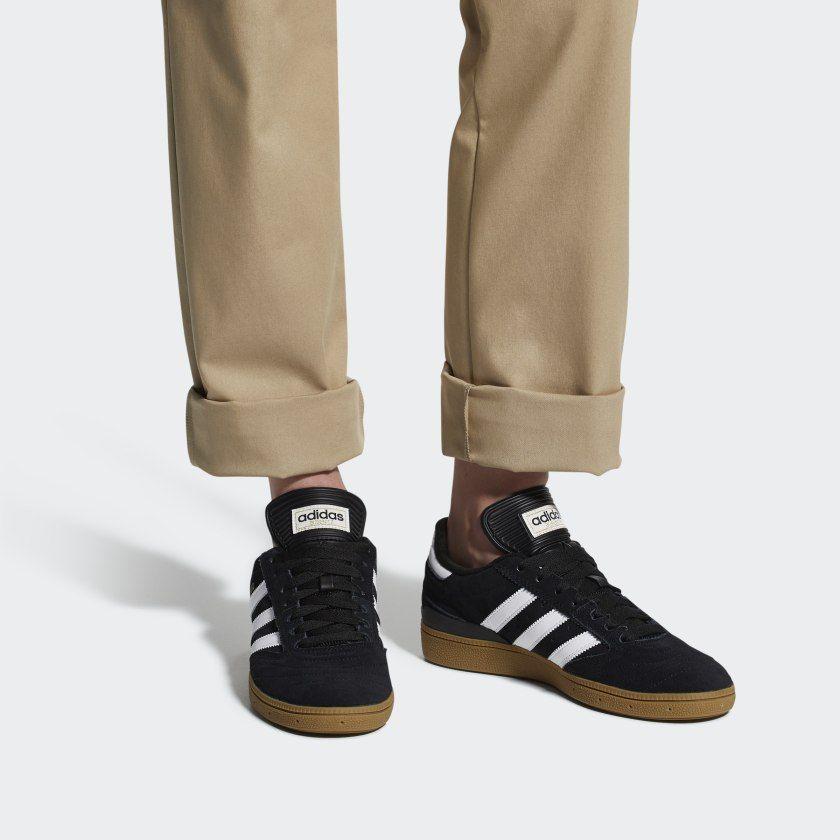Busenitz Pro Shoes Black Mens | Black adidas, Black shoes