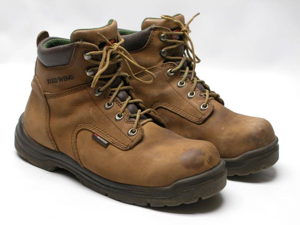 RED WING 435 KING TOE TAN LEATHER