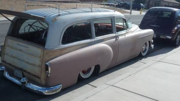 Bagged Chevy Wagon Cool Old Cars Hot Rods Cars Muscle Hot Rods