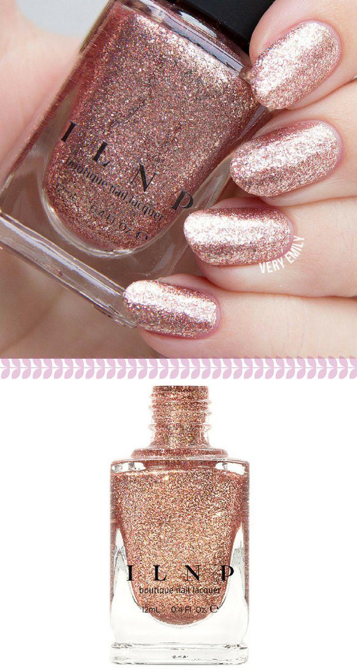 Juliette - Rose Gold Holographic Nail Polish | Nail It. | Pinterest