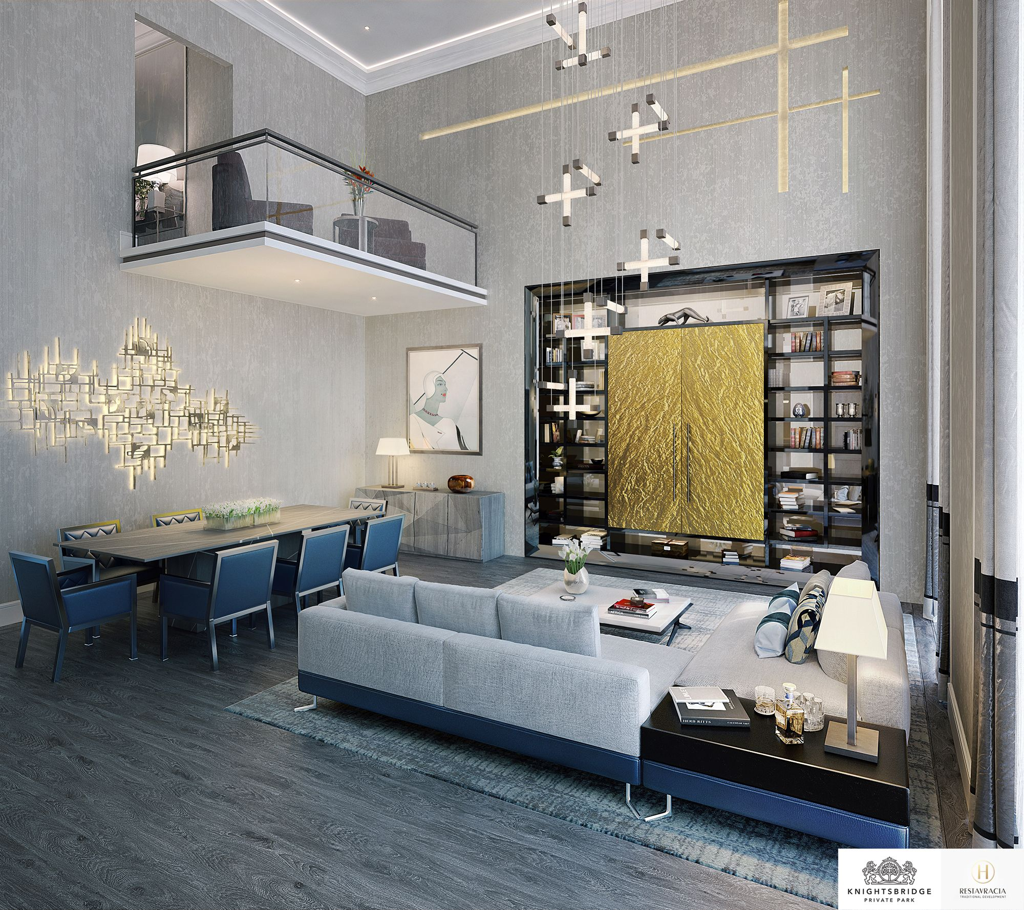 Home interior design drawing room linley interior design has produced design options for the interiors
