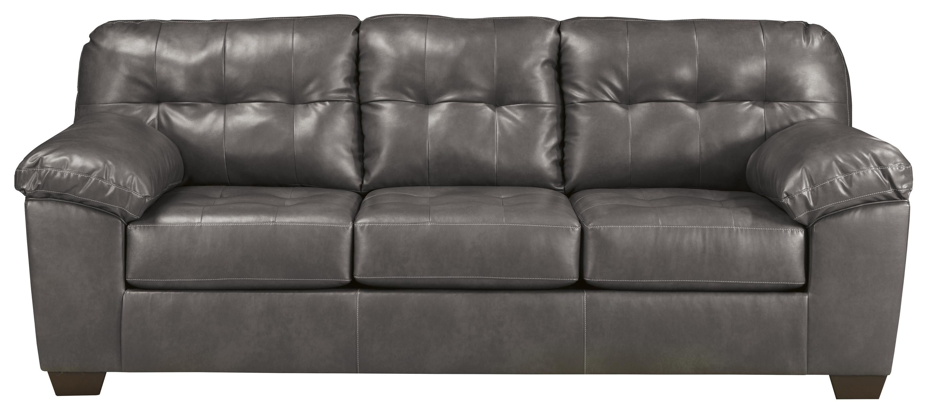 Alliston Durablend Gray Queen Sofa Sleeper By Signature Design By Ashley Love Seat Leather Sofa And Loveseat