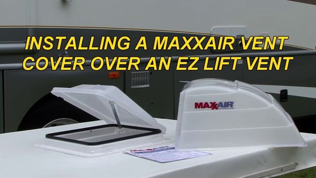 Maxxair I Original Roof Vent Cover Translucent White Roof Vent Covers Vent Covers Roof Vents
