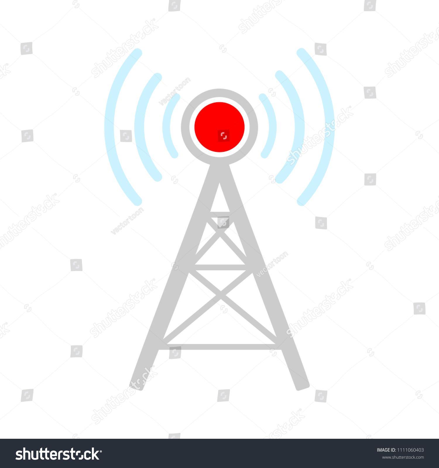 vector wireless network symbol, wifi icon communication
