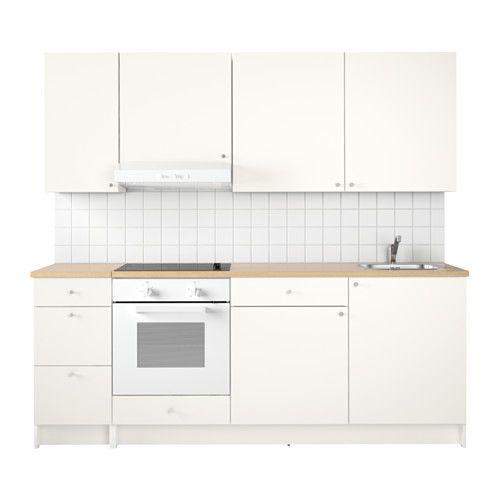 IKEA   KNOXHULT, Küche, Eine Komplette Küche Mit Arbeitsplatte, Regalen,  Schubladen,