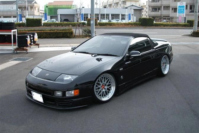 Nissan 300zx Convertible Black