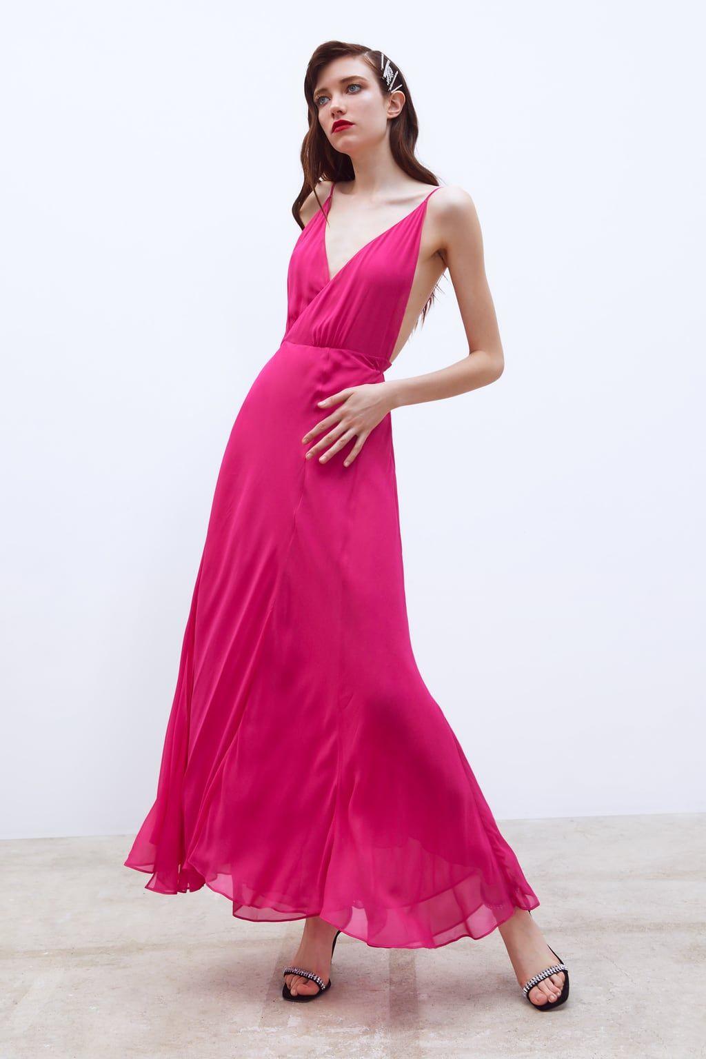 Long Wrap Dress View All Dress Time Woman Corner Shops Zara United States