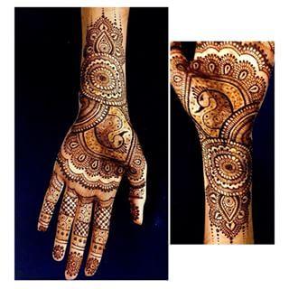 25 tatuajes de henna asombrosamente complicados