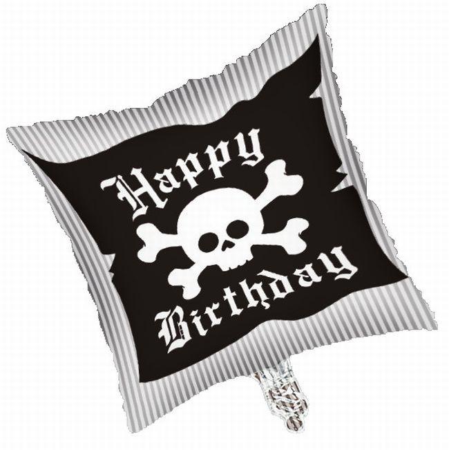 Pirate Party Foil Balloon #happyhalloweenschriftzug