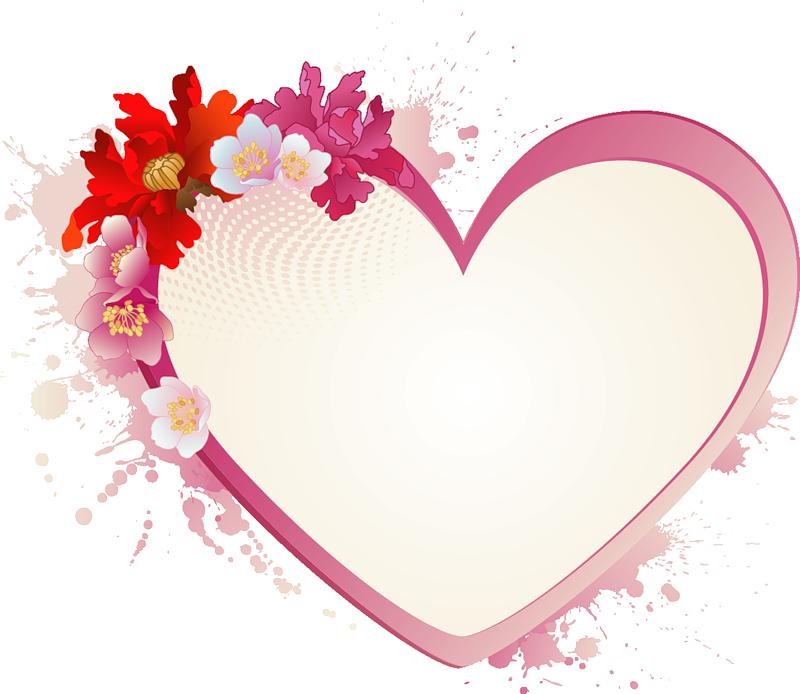 День, открытки сердце рамки для