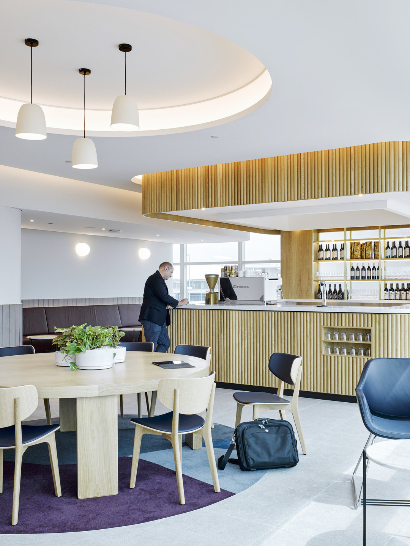 Qantas Domestic Business Lounge Brisbane Airport in 2019