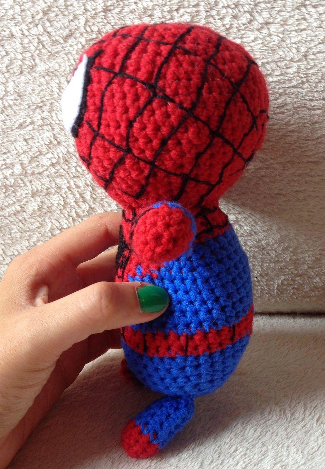 Erfreut Spiderman Crochet Pattern Bilder - Strickmuster-Ideen ...