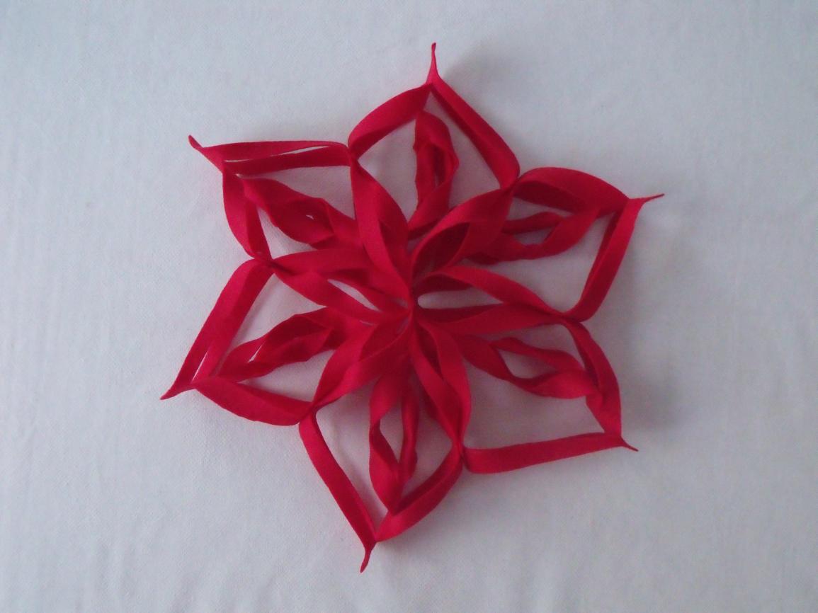 Come Fare Stella Di Natale.How To Make A Christmas Felt Star Decoration Diy Tutorial Come