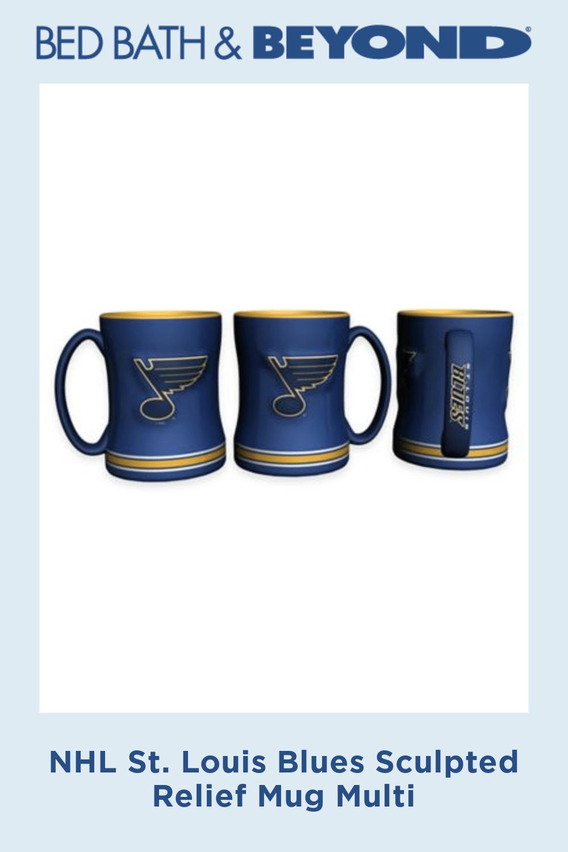 14 OZ Sculpted Mug ST Louis Blues