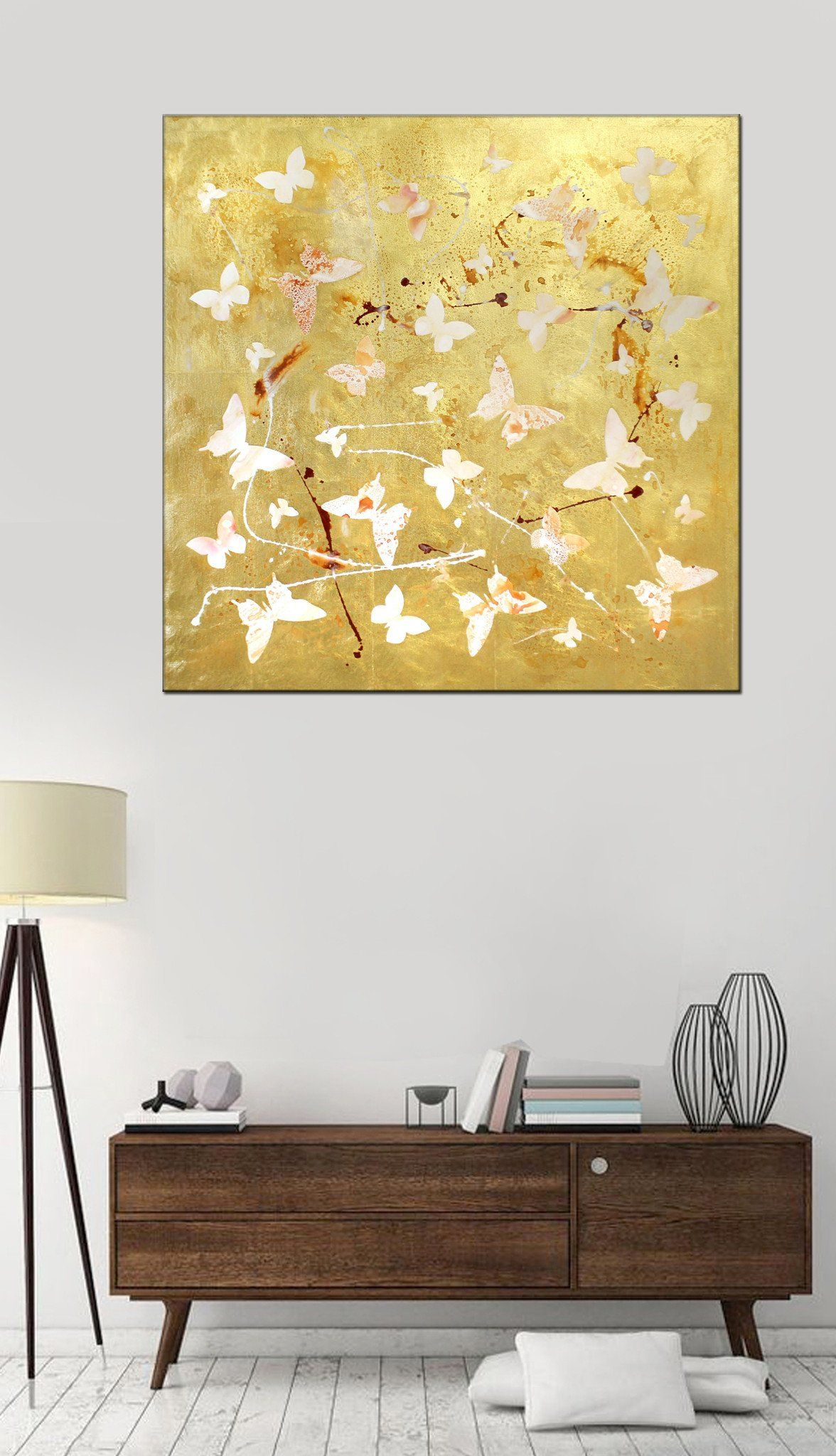 Dream Away (gold leaf, high gloss) | Sale uk, Original paintings and ...