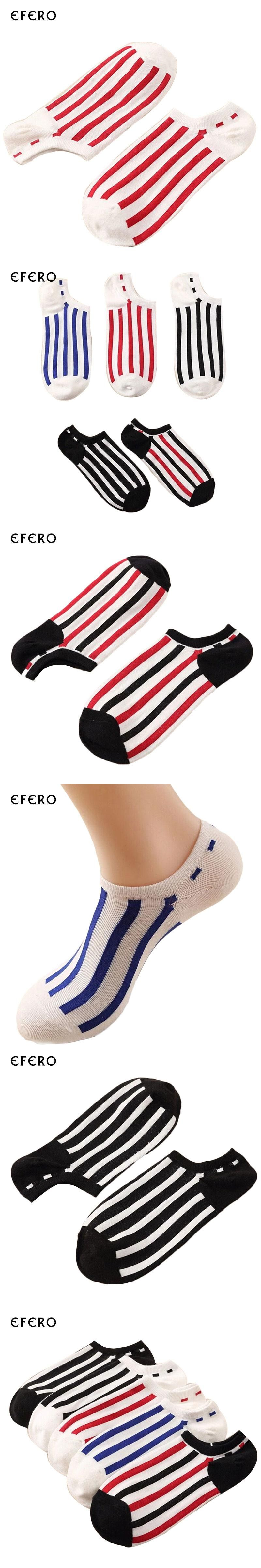 1Pair Men's Dress Socks Striped Male Ankle Sock Boat Short Socks Slippers Shallow Mouth Male Compression Socks Calcetines Hombre