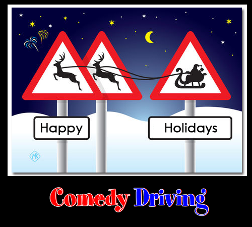 Comedy Driving wishes you a safe and Happy Holiday this week!  #defensivedriving  #defensivedrivingtexas  #safedriving  #safedrivingtexas  #trafficschool  #trafficschooltexas  #happyholidays  #followme  http://www.comedydriving.com/