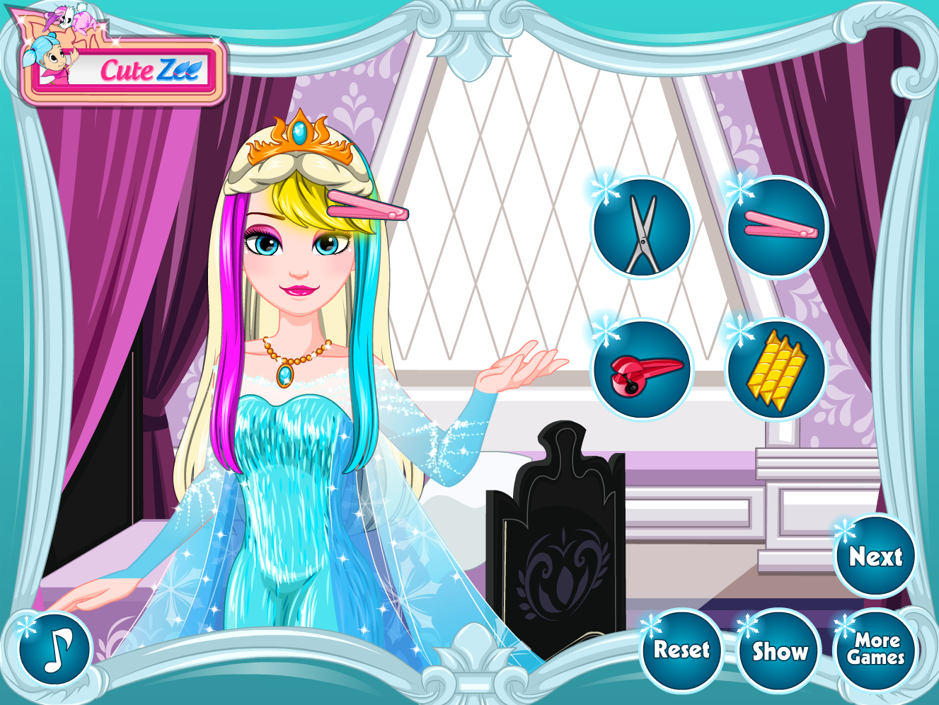 Elsa Frozen Haircuts Play Free Games Free Games Elsa Frozen