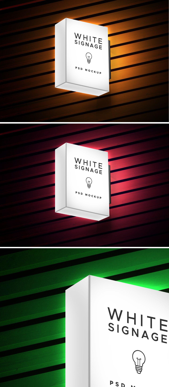 Download Light Box Display Signage Psd Mockup Graphicsfuel Light Box Display Lightbox Signage Signage
