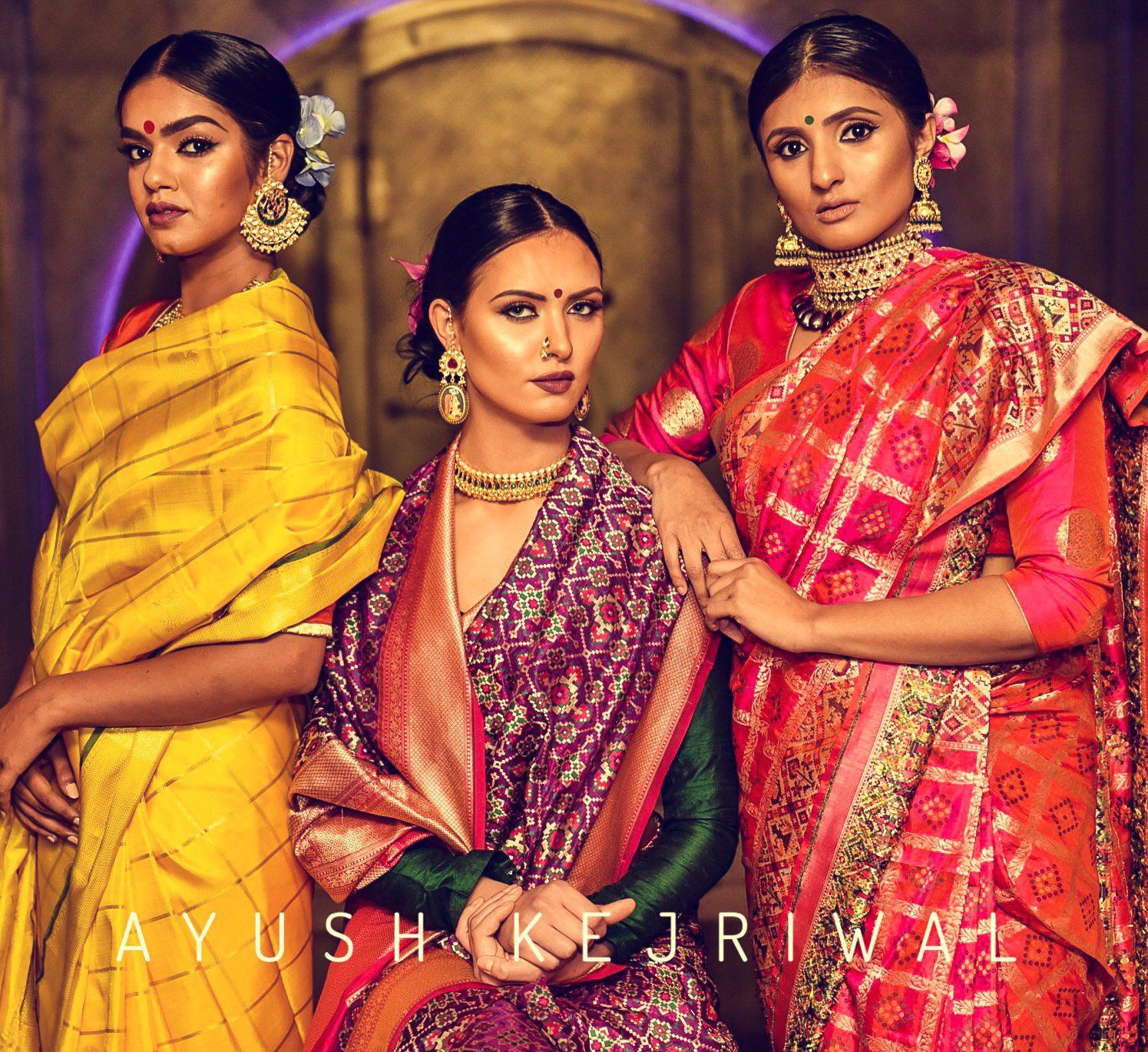 Sarees by Ayush Kejriwal For purchases email me at