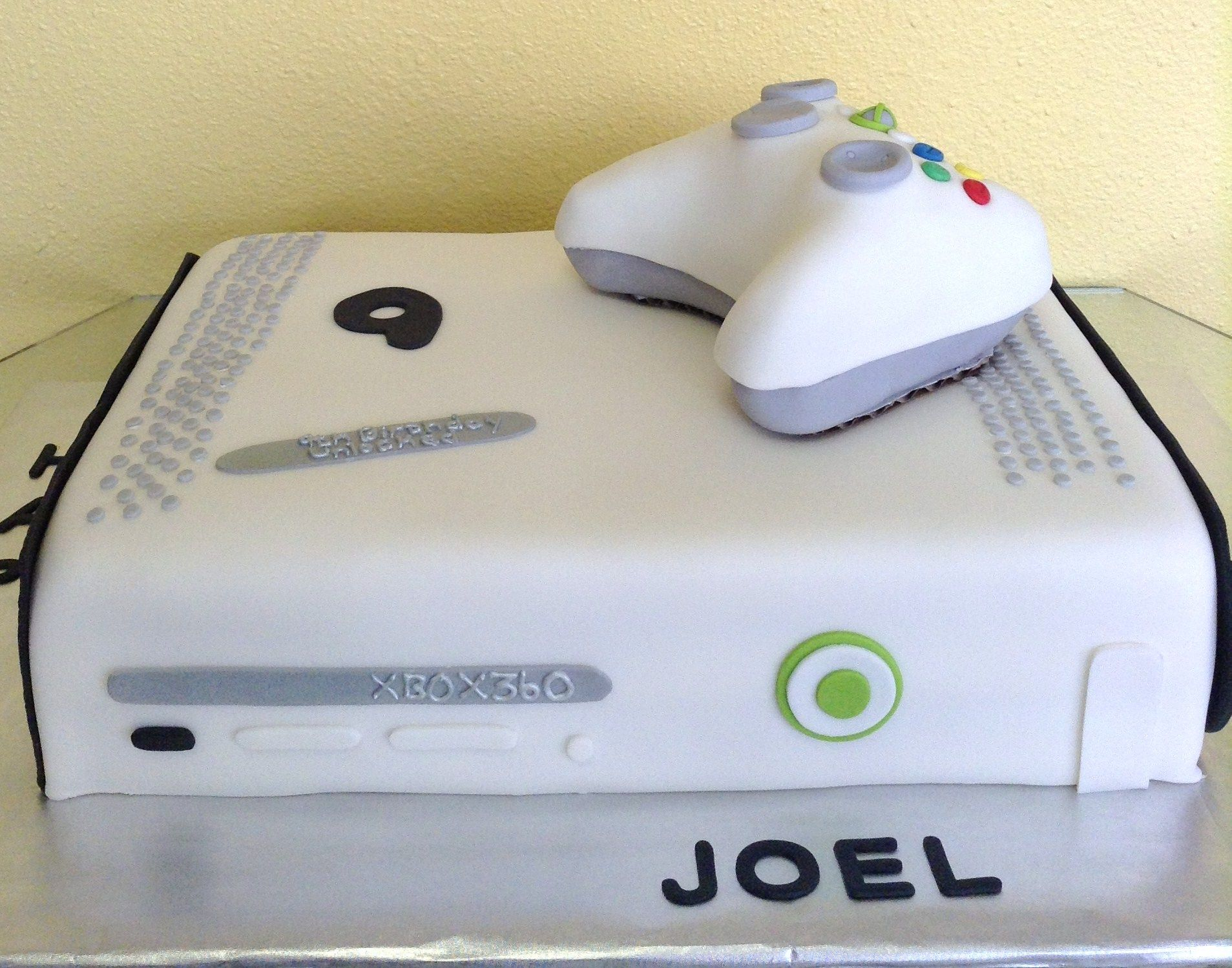 Xbox 360 Cake 9th Birthday Unlocked How To Make Cake Custom Cakes 9th Birthday
