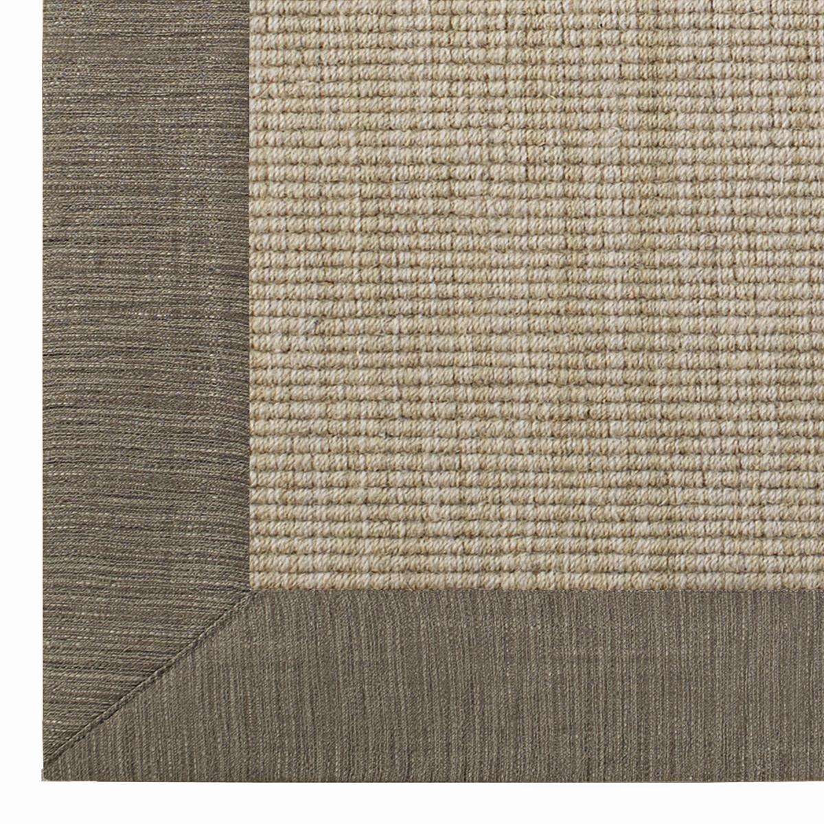 Linen Texture Border Wool Sisal Rug Sisal Rugs Sisal
