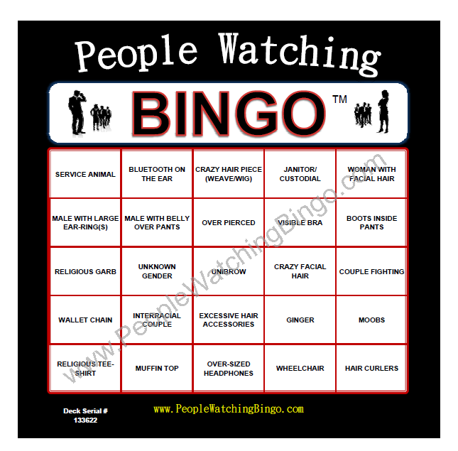 People Watching Bingo Would Love To Play This Game