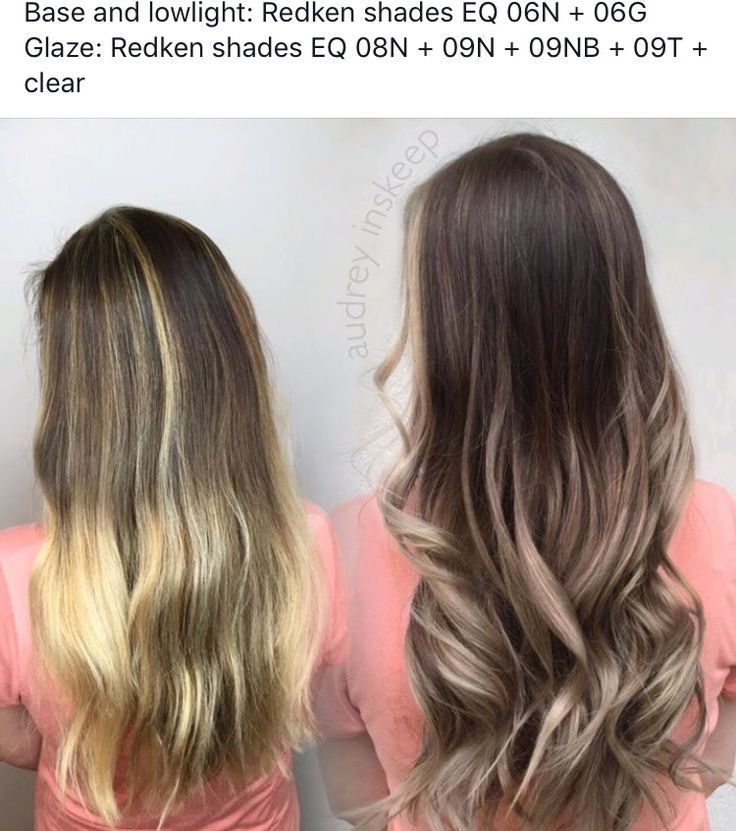 Brunette Ombre Brown Haircolor