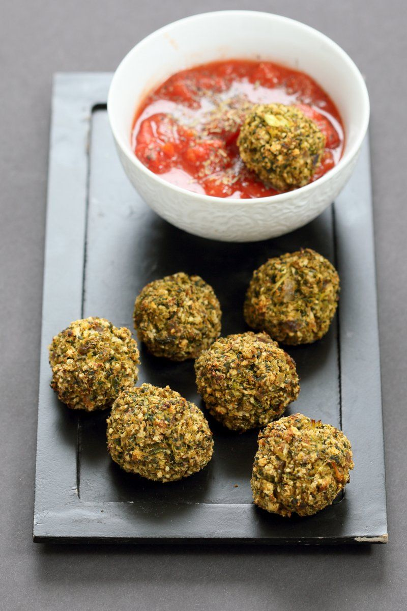 Vegan Broccoli Balls