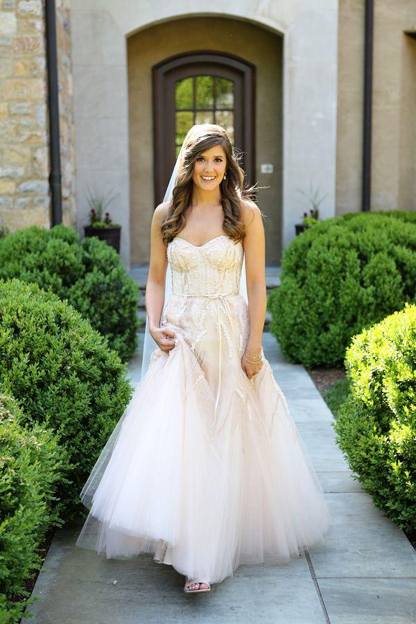 Pastel Spring Wedding by Mary Rosenbaum | Blush weddings, Wedding ...