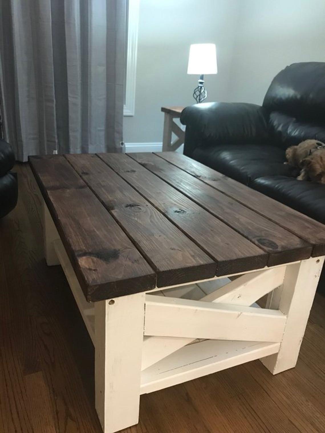 Farmhouse Coffee Table Coffee table, Coffee table