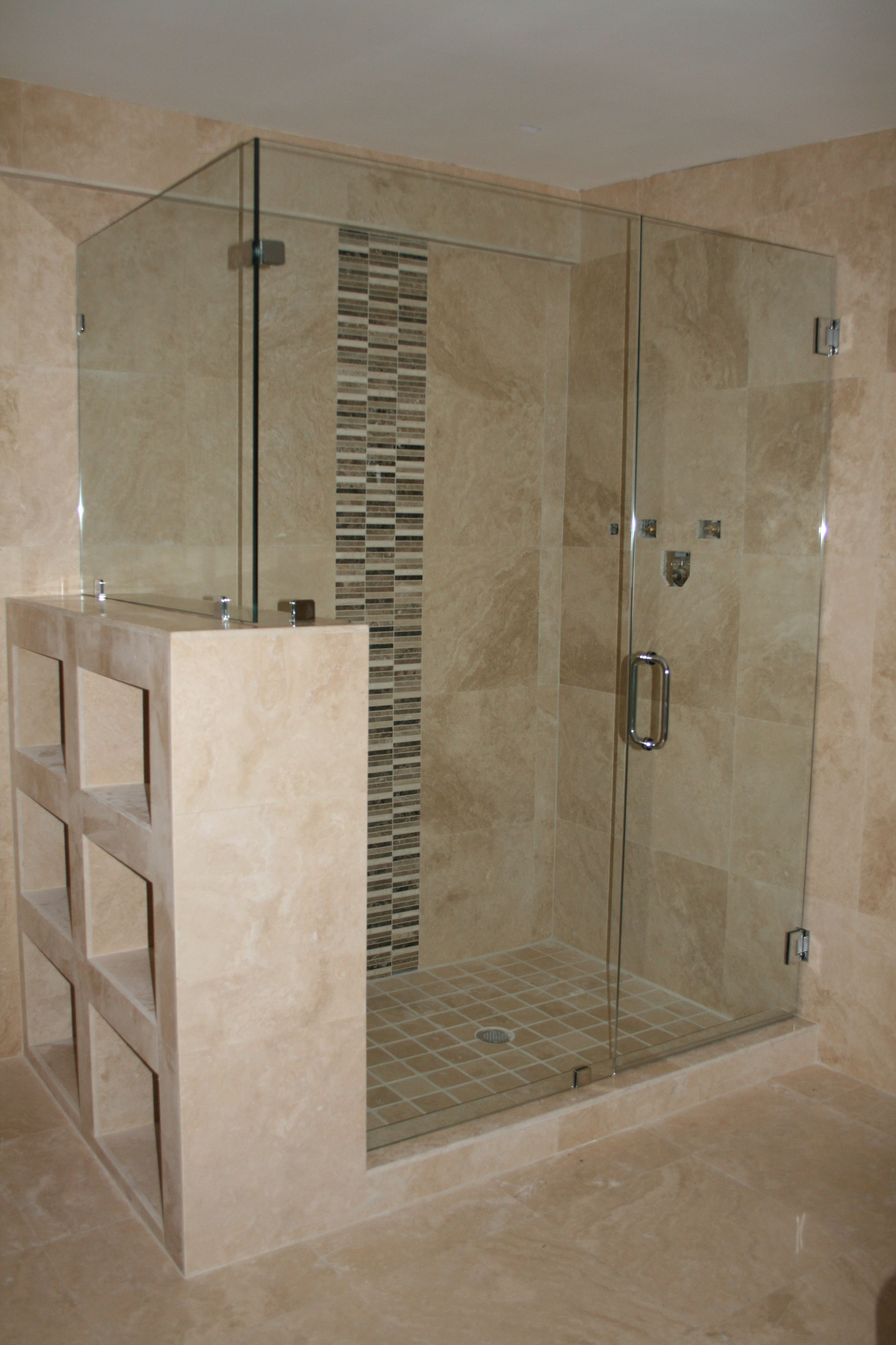 Clear Glass Frameless Shower Badezimmerideen Zimmer Zimmer Ideen