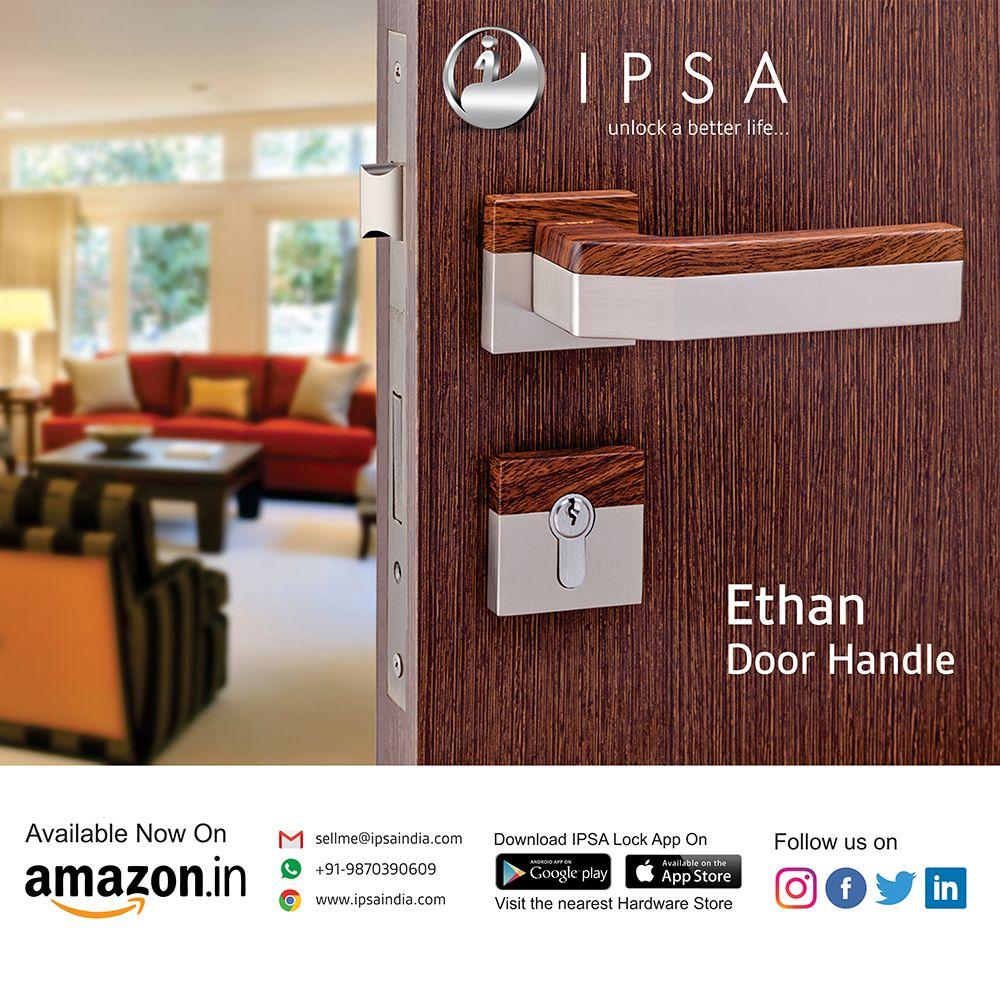 Ipsa Luxos Series Ethen Luxury Door Handles With Escutcheons 7 Years Manufacturer Warranty Made By High Densit Door Handles Bottle Opener Wall Hardware Store