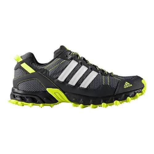 newest 16b43 04bb9 Mens adidas Rockadia Trail Running Shoe Dark GreyFtwr WhiteSolar
